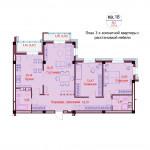 Продажа 3-х комнатной квартиры по ул. Короля, д. 8 6