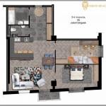 Продажа 3-х комнатной квартиры в районе Воронянского-Авакяна, 98.72 м² 6