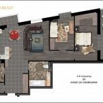Продажа 3-х комнатной квартиры в районе Воронянского-Авакяна, 103.93 м² 5