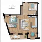 Продажа 3-х комнатной квартиры в районе Воронянского-Авакяна, 85.98 м² 5