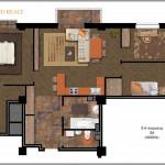 Продажа 3-х комнатной квартиры в районе Воронянского-Авакяна, 97.67 м² 5
